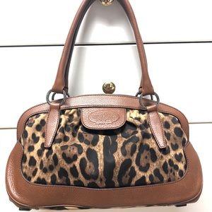 Vintage Dolce & Gabbana leopard print bag